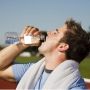 Athlete Drinking