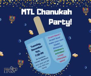 MTL Chanukah Party!